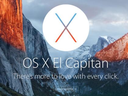 Sebelum Upgrade ke OSX El Capitan