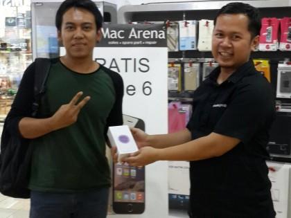 Ini Pemenang iPhone 6 Edisi Desember 2015