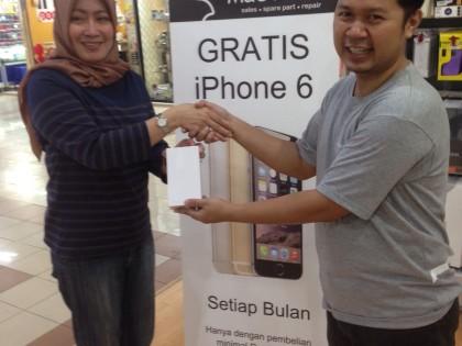 Tahun Baru, rejeki iPhone 6 Baru….